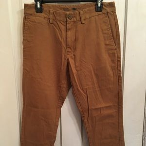 Old Navy Tan Khaki Pants 30x30
